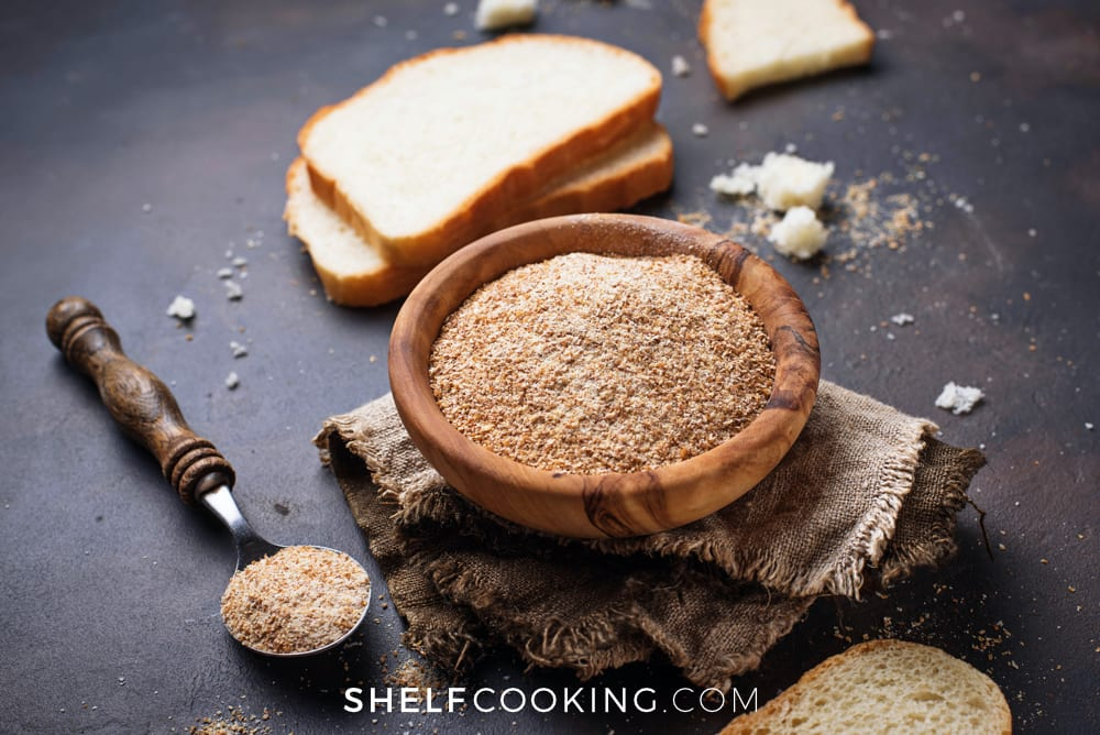 Come learn all that you need to know about bread crumbs from ShelfCooking.com, from what to use them in to how to make substitutions!