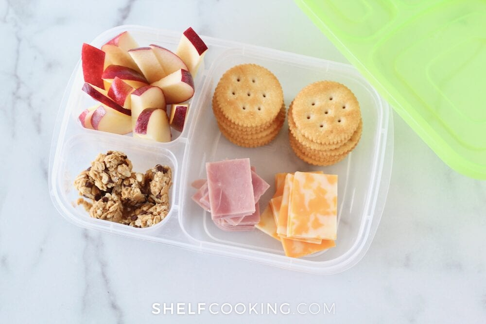 DIY lunchables, from Shelf Cooking