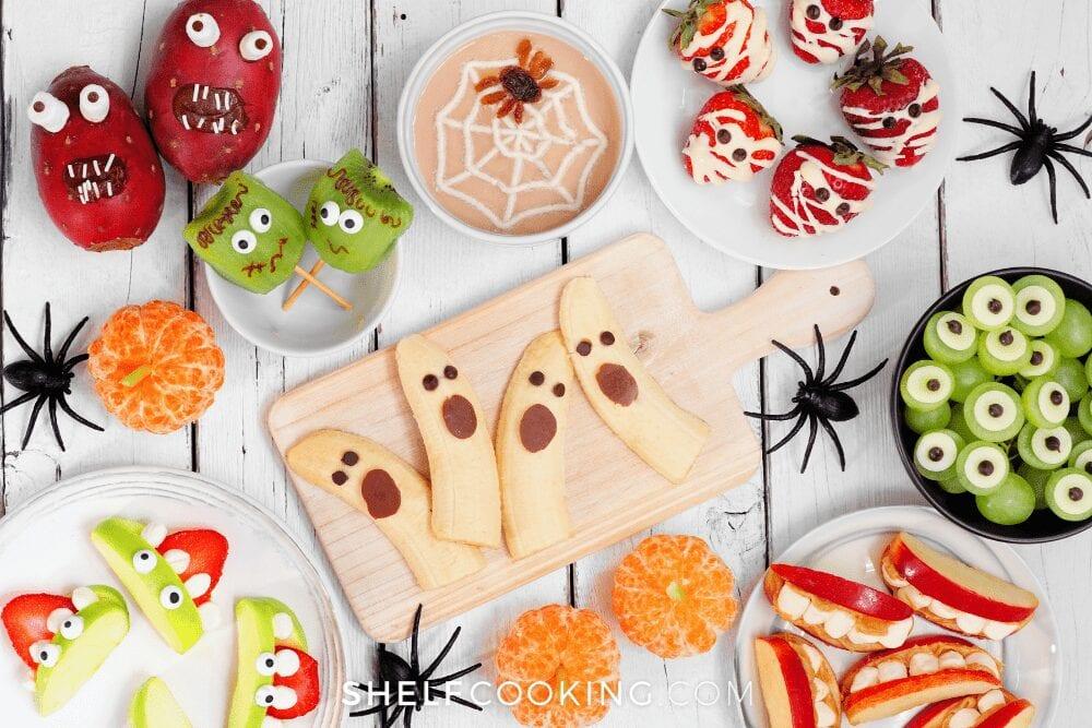 Halloween cookies, snacks, and treats from Shelf Cooking