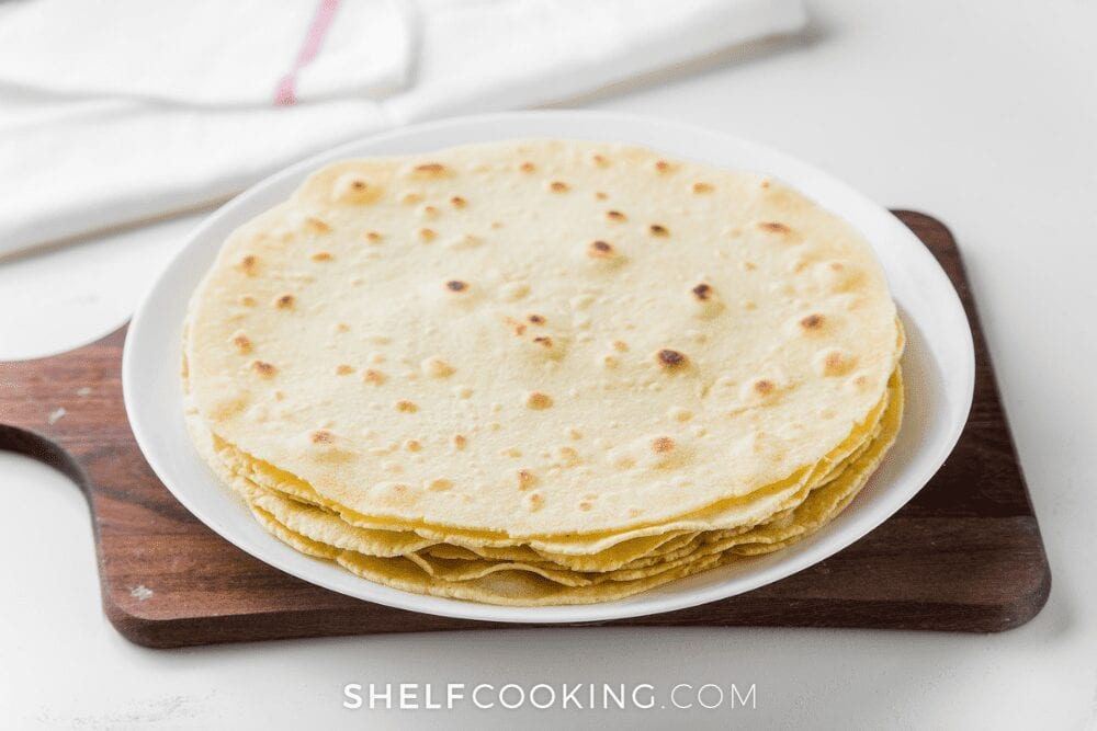 What To Make With Stale Tortillas Fresh Tortilla Recipe Shelf Cooking