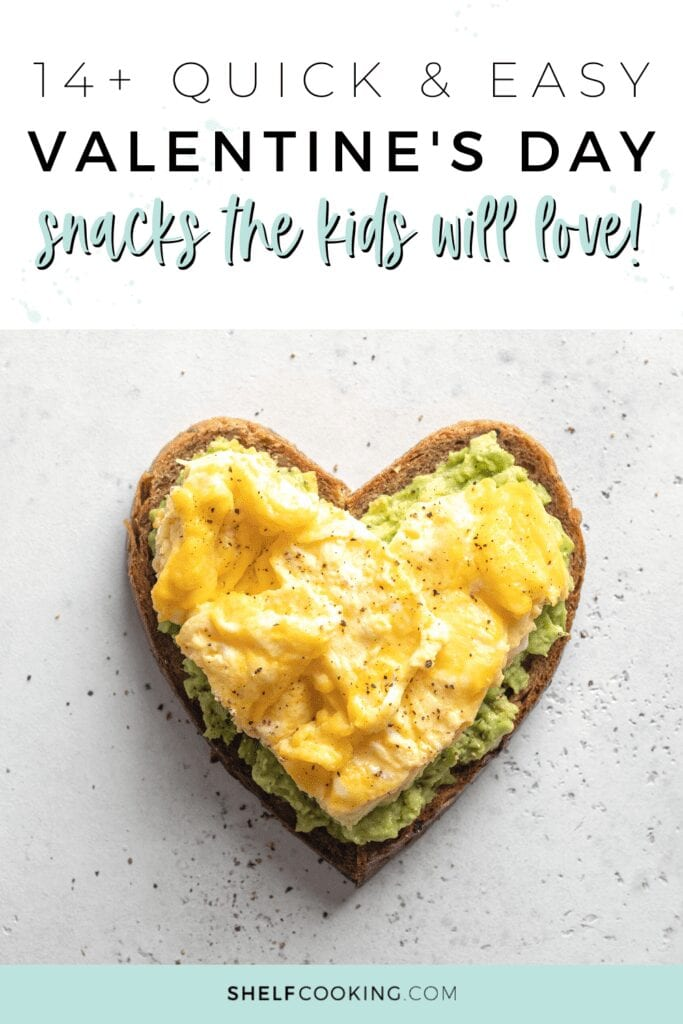 learn how to make easy Valentine's Day snacks, from Shelf Cooking