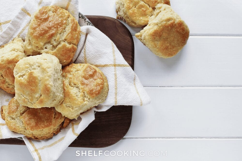 fresh homemade biscuits, from Shelf Cooking