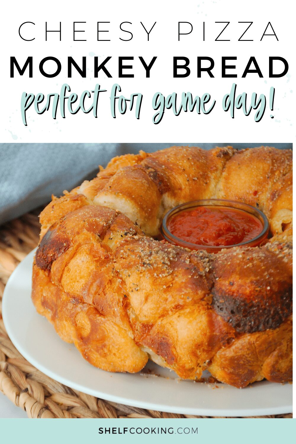 learn how to make pizza monkey bread, from Shelf Cooking