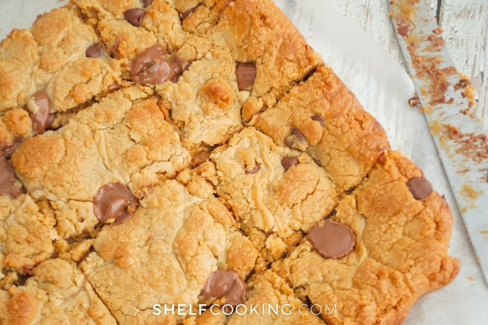 homemade ooey-gooey bars, from Shelf Cooking