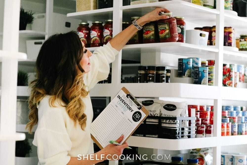 Jordan Page meal planning, from Shelf Cooking