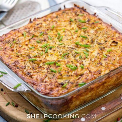 easy homemade hashbrown casserole